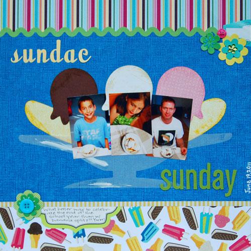 Sunday-Sundae