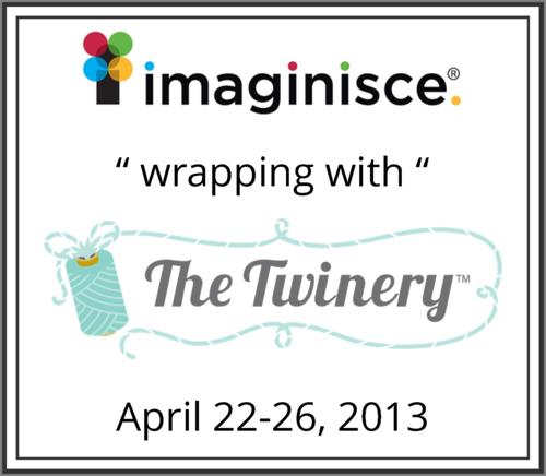 Imaginisce TheTwinery Blog Hop Badge 2013