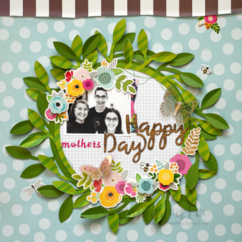 Guest designer Susanna Lee shares her scrappy skills with us just in time for Mother's Day!