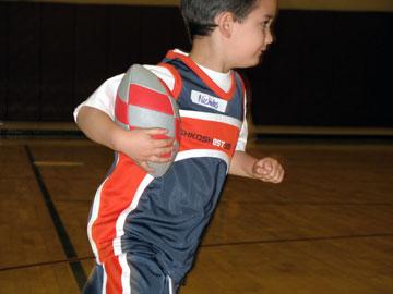 Runningthefootball